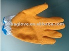 yarn dipped latex glove