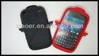 Fashion silicone cell phone holder for blackberry9320
