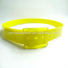 The Bright Color Plastic Belt With PP Buckle