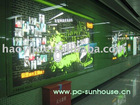 2mm thick of polycarbonate advertising box panel