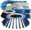 Brushe for sweeper machine