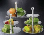 tier stainless steel Fruit Tray/food tray/cake tray