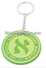 custom promotion soft pvc 3D keychains for promotional,round pvc key chain,pvc keychain machine