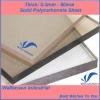 Solid Polycarbonate Sheet Manufacturer