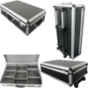 trolley aluminium case with EVA adjustable dividers