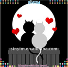 wall sticker Loving Cats (Giant Removable Wall Stickers)