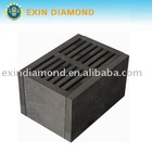 Graphite mould for small size segment