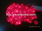 Christmas led string light with decoration