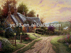 Good quality modern oil painting canvas