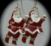 2012 new design unique Christmas Santa Claus drop earring