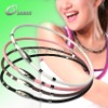 Fitness sports ion energy magnet necklace