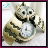2012 as promotional gift Chinese style classical steampunk owl pocket watch