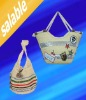 straw bag,straw beach bag,paper straw bag