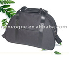 Black 900D polyester travel bag with big capacity GE-4007