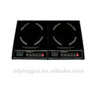 Double burner induction cooker