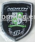 Shield shape Embroidery badge