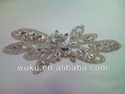 crystal patch for bridal dress
