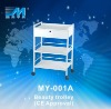 CE Certified MY-001A Beauty Salon Trolley