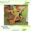 wood trolley