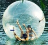 roll inside inflatable ball