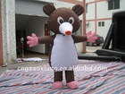 movable inflatable action cartoon figure custom
