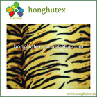 Tiger fleece fabric with more than 300 designs in-stock selling!