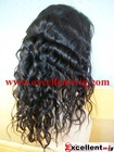 (FL-116) #2 14 inch 100% indian remy hair deep body wave full lace wig in stock