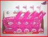 Cartoon Pink Plastic Handy Folding Shopping Cart for kids