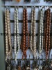 Islamic muslin prayer beads