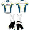New Design Cycling Biking Jersey and Bib Shorts Cool Dry CWTS09