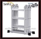 Mobile stage ladder
