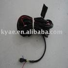 wired visual reversing radar system wire harness(backing radar,back up redar detector, car parking sensor )