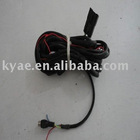 wired visual reversing radar system wire harness(backing radar,back up redar detector, car parking sensor )