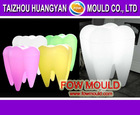 injection mold tooth lamp