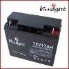 12V17AH golf trolley car lead acid battery