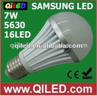 alumiuum housing 110v indoor led bulb e27 ce listed