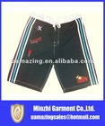 2012 the newest pure color with binding bound surf short for men