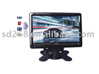 New item 7 inch tft lcd car tv monitor with usb and sd