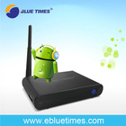 Google Android 4 0 Set Top TV Box Support Skype video Chat