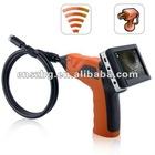 "3.5"" LCD Video Inspection Snake Scope Camera Borescope Endoscope 4 LED Lights"