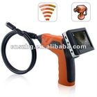"3.5"" LCD Video Inspection Snake Scope Camera Borescope Endoscope 4 LED Lights"