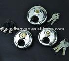 stainless steel disc padlock TL-05