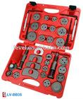 35pc Brake Caliper (Piston) Wind Back Tool Kit LV-BB35