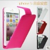 New Slim Stylish Magnetic Pu Leather Flip Case Cover for iPhone 5