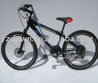 EEC DLEVM1007 18 SPEED DOUBLE DISK BRAKE MOUNTAIN BIKE