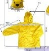 Children raincoat (PVC/ PE/ EVA/PEVA)