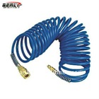 BellRight High Standard PVC Spring Air Hose, Multi Color, with Standard Quick Coupling