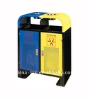 Metal Outdoor recycling bin(A-098)