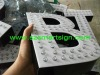 outdoor plexiglass face illuminated LED channel letter sign