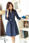 FY0144 New Tops Vintage Fashion blue Professional Dresses